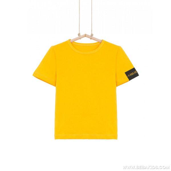 žlté tričko pre chlapcov