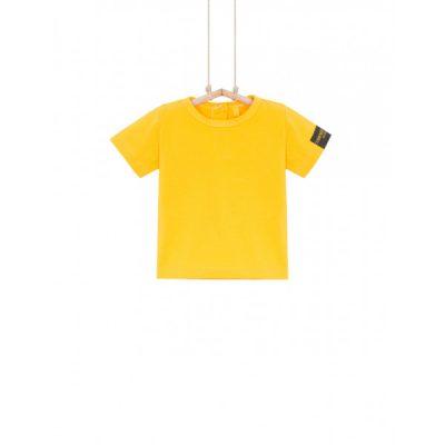 žlté tričko pre chlapca