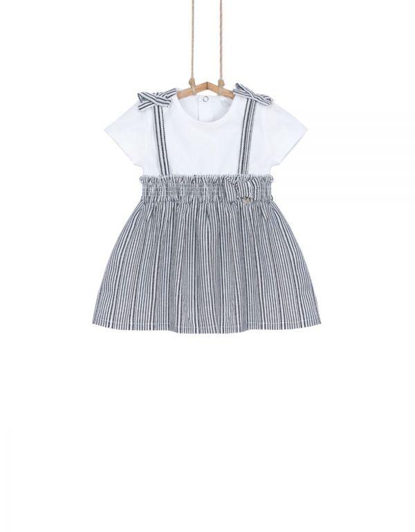 dievčenské šaty tričkové