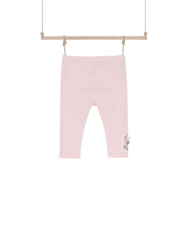 dievčenské legíny ružové KIM