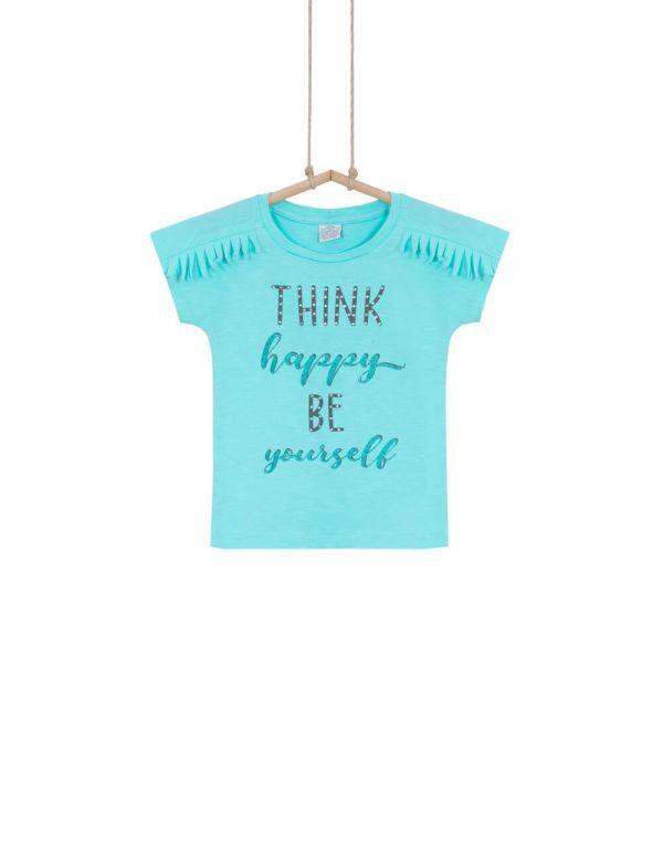 Dievčenské tričko s krátkym rukávom BEBAKIDS TEJLOR