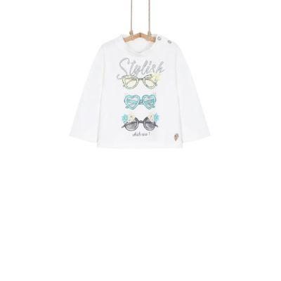 Dievčenské tričko s dlhým rukávom TEODORA