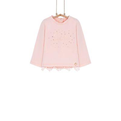 dievčenské tričko ružové Bebakids KETI