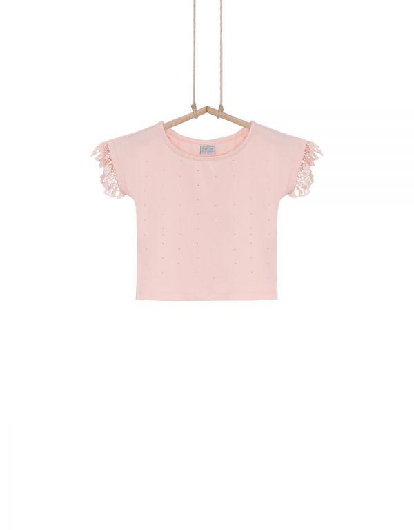 Dievčenské crop top tričko