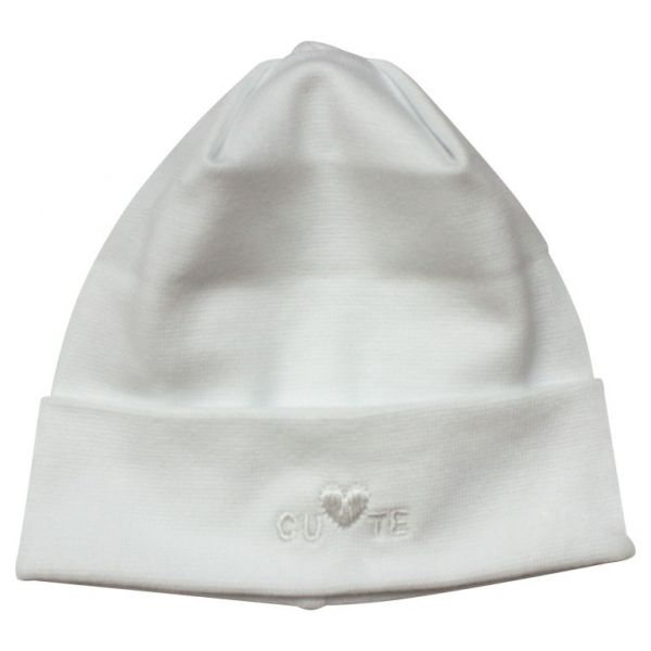Dojčenská čiapka CUTE Richelieu biela