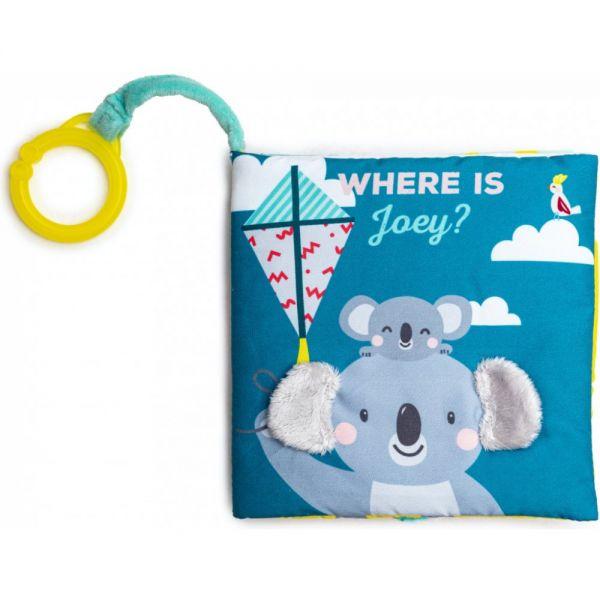 Taf Toys knižka s aktivitami where is Joey