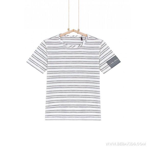 Chlapčenské tričko pásikavé BEBAKIDS Basic
