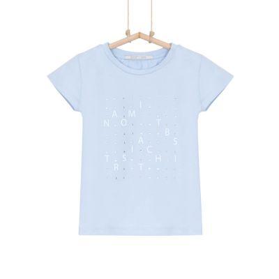 tričko dievčenské modré