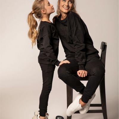 oblečenie pre mamu a dcéru tepláková súprava All for Kids
