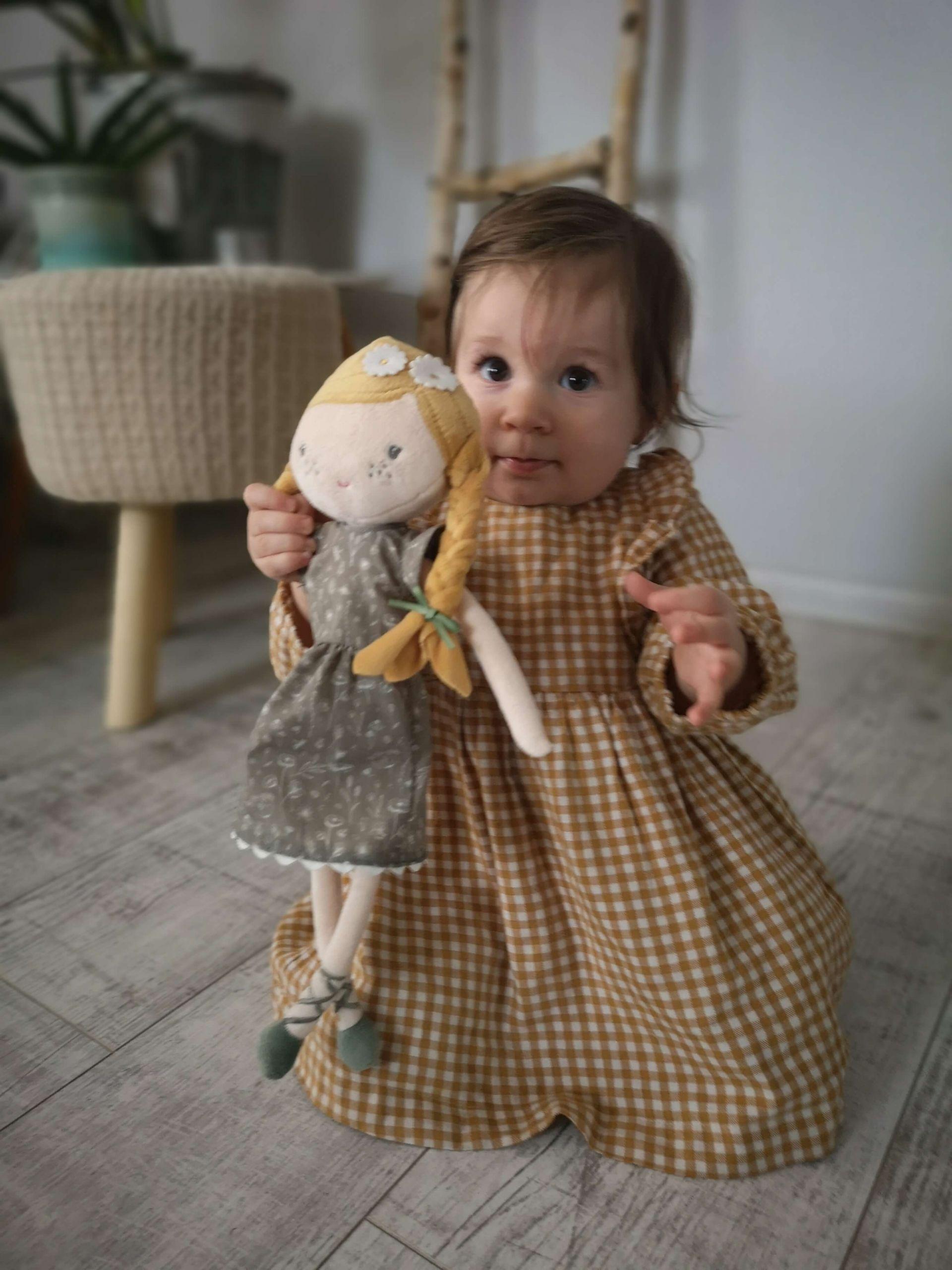 mäkká bábika Little Dutch