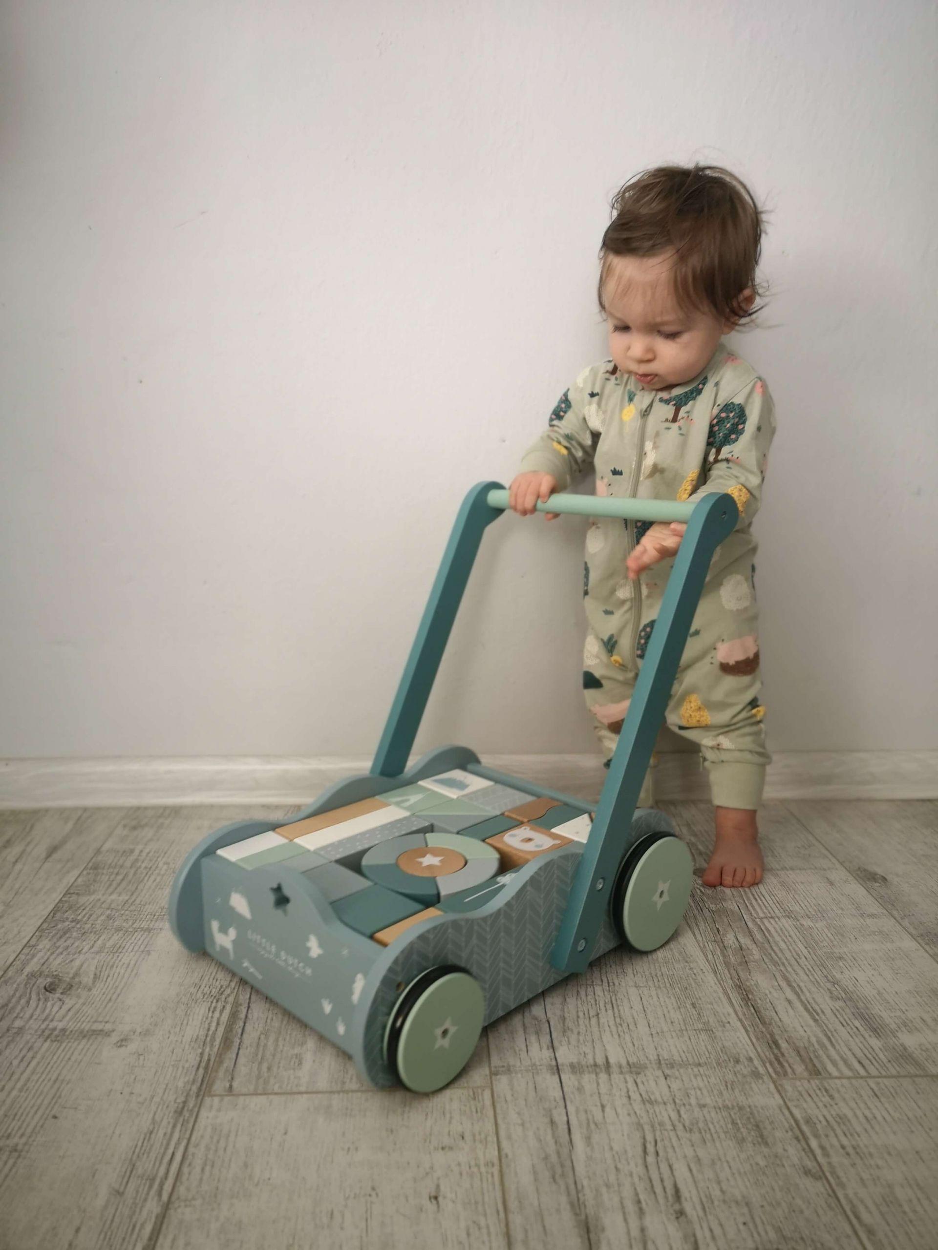 drevený vozíček Little Dutch