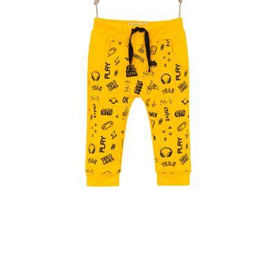 tepláky pre bábätká žlté