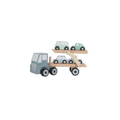Little Dutch Nákladiak a 4 autíčka