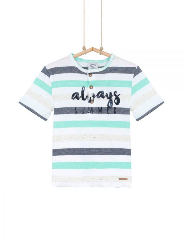 Chlapčenské tričko s krátkym rukávom RIKARD