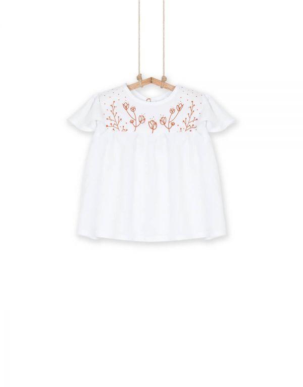 Dievčenské košeľa s krátkym rukávom RUBI