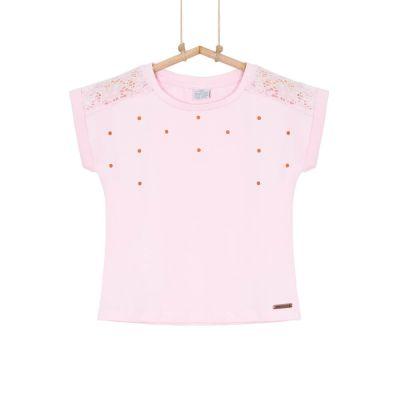 Dievčenské tričko s krátkym rukávom ROSE