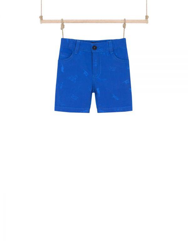 chlapčenské šortky modré 80 86 92 98