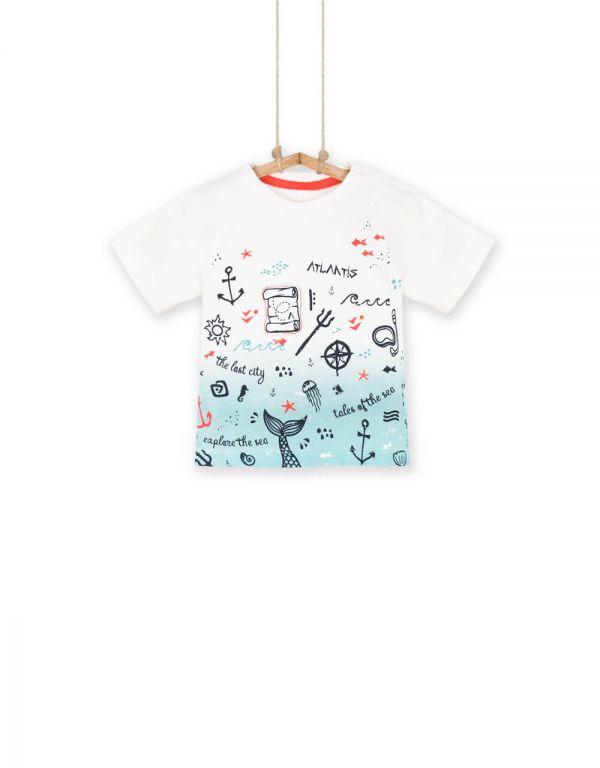 Chlapčenská tričko s krátkym rukávom NELSON