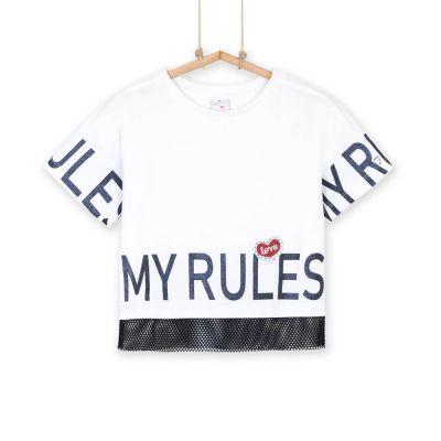 Dievčenské tričko s krátkym rukávom VIVI
