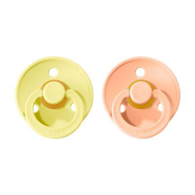 BIBS Colour cumlíky 2ks - Sunshine / Peach Sunset
