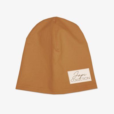 Detská čiapka JAPI hnedá