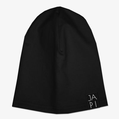 Detská čiapka JAPI čierna