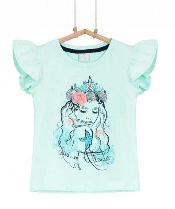 tričko pre dievča zelené