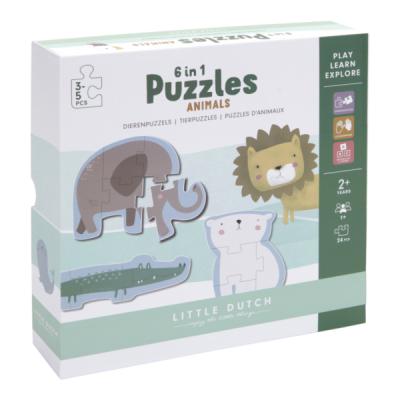 Little Dutch Puzzle ZOO