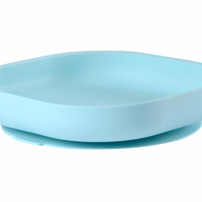 Beaba Tanier silikónový s prísavkou Blue