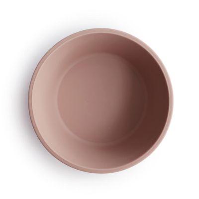 Mushie silikónová miska s prísavkou Blush