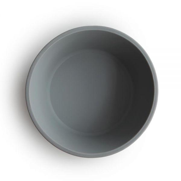 Mushie silikónová miska s prísavkou Stone