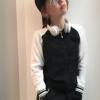tenká mikina na zips dievčenská