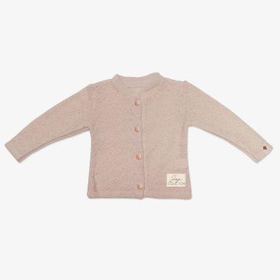 Dievčenský sveter JAPITEX ROSE béžový