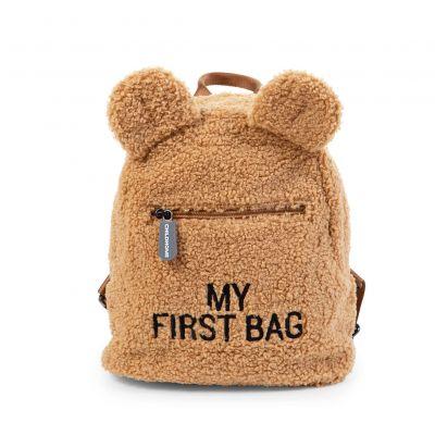 Childhome Detský batoh My First Bag Teddy Beige