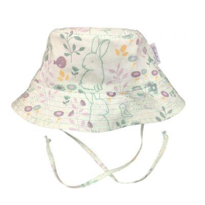Dojčenský klobúčik SUMMER Richelieu zajačik
