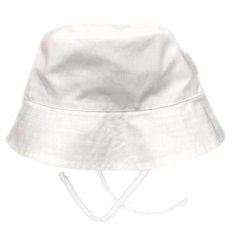 Dojčenský klobúčik SUMMER Richelieu biely