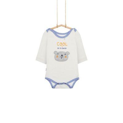 Dojčenské body s motívom macka
