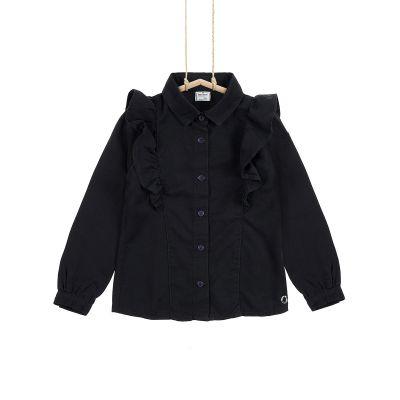 Dievčenská košeľa s golierom