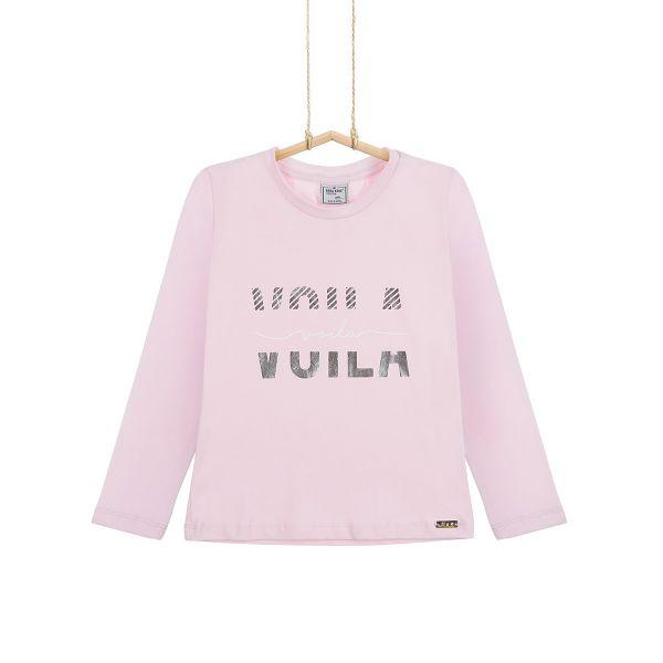 dievčenské tričko ružové