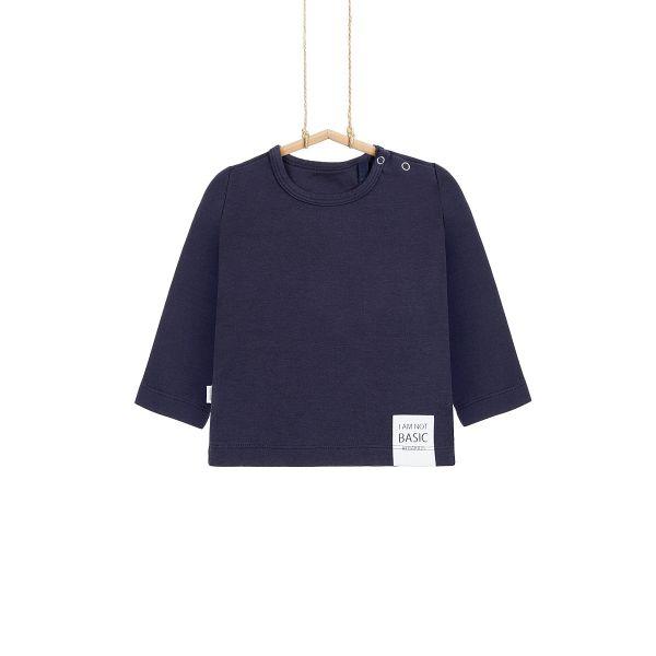 Chlapčenské tričko tmavomodré