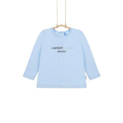 dievčenské tričko svetlomodré