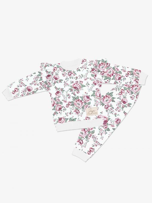pyžamo Japitex Roses ružové