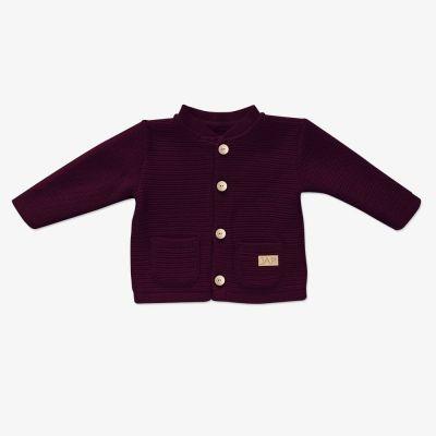 Dievčenský sveter JAPI Pure bordový