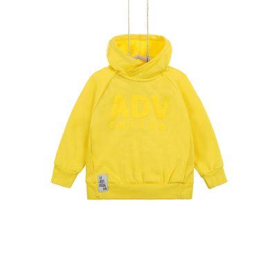 Chlapčenská mikina žltá