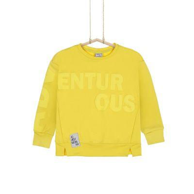 detská mikina žltá