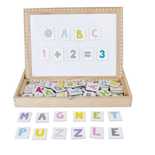JaBaDaBaDo Magnetická tabuľka Abc