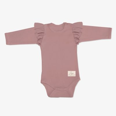 Dojčenské body JAPI HEARTS DR ružové