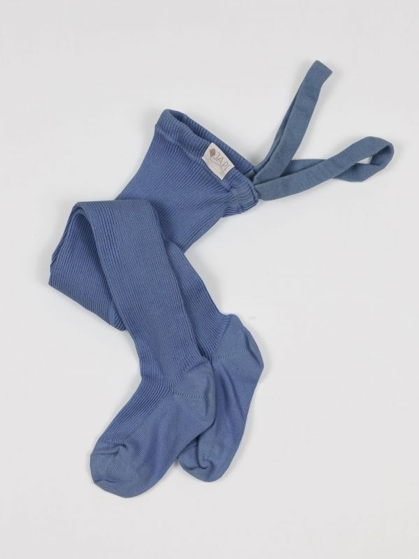 Pančuchy na traky modré