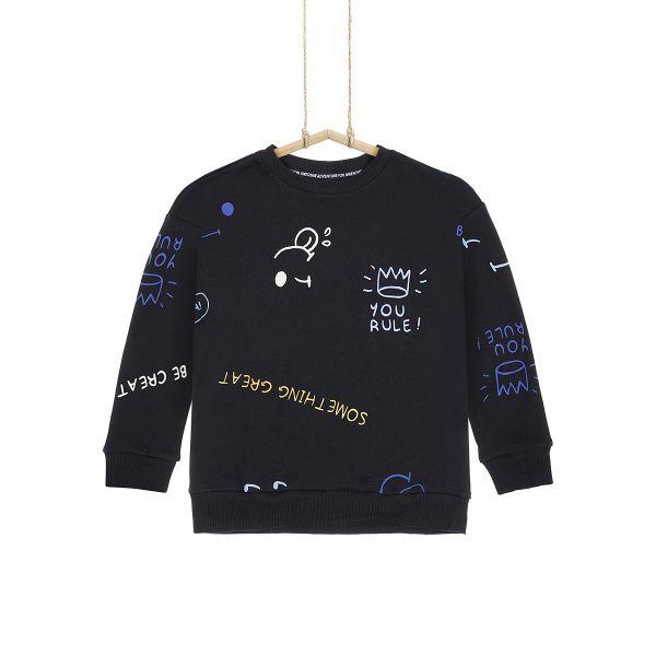 Chlapčenské tričko čierne