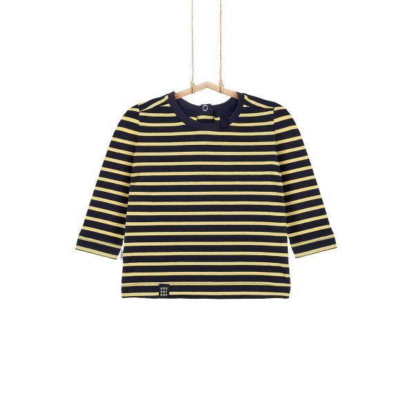 Chlapčenské tričko s pásikmi
